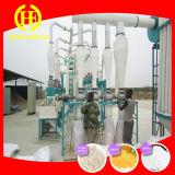 Moinho de farinha do milho que faz a máquina para África