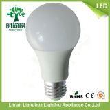Bombilla de la buena calidad A60 5W E27 2700k LED