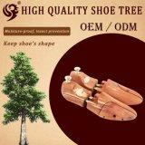 快適なデザイン調節可能で自然な木の安いレーザーの靴の木