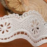 Heiße verkaufende neue Entwurfs-Baumwollhäkelarbeit-Spitze für Hometextiles