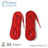 Взрослый шнурки конька ткани тканья ботинка напечатанные сублимацией изготовленный на заказ