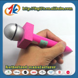 Reeks van het Blad van de Sticker van de Balpen en van de Gem van de kantoorbehoeften de Microfoon Gestalte gegeven