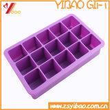 Faisant cuire le plateau de glaçon de silicones d'outil du glaçon fait sur commande de silicones de vaisselle de cuisine (YB-HR-54)