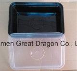 Contenedor de almacenamiento de alimentos de la bandeja del almuerzo microondas y lavavajillas (LB12007)