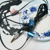 Écouteur en métal intra-auriculaire plat