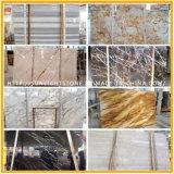 China /Waterjet-Travertin/Marmore billig weiß/des Grüns/des Schwarzen/des gelben Mosaiks für Fußboden-Fliese-Platte