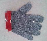 ステンレス鋼のチェーン・メールの手袋の/Butcherのチェーン・メールの反切口の手袋