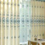 Polyester-wasserlöslicher Stickerei-Stromausfall-Fenster-Vorhang (28W0043)