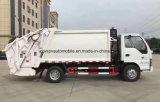 Isuzu 6 Cbm 4*2에 의하여 압축되는 쓰레기 트럭 트럭 6 톤 패물 수레