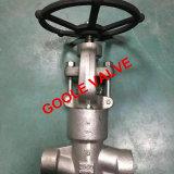 Valvola di globo d'acciaio forgiata ad alta pressione del dispositivo di tenuta a pressione (GAJ61Y)