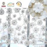 il tessuto del merletto del reticolo di fiore 3D, indumento del ricamo Accessorize C10020