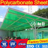 Folha do policarbonato da placa do material de construção