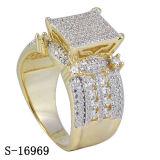 루비를 가진 새로운 디자인 보석 반지 은 925