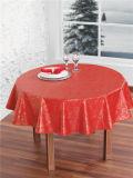 結婚式のための卸し売り安いNonwoven裏付けのPVCによって印刷されるテーブルクロスか党またはホーム