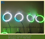 С одновременным Halo кольцо, Цвет RGB LED Angel глаза, полный круг Angel Eye Halo кольцо