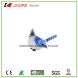 Het met de hand geschilderde Nieuwe Blauwe Standbeeld van de Vogel Polyresin voor de Ambachten van de Decoratie en van de Gift van de Tuin