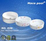 競争の正常な円形のタイプ洗面器の芸術の流し(038)