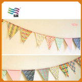 Rectangle Decorating Custom Bunting Flag for Wedding Party