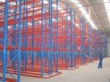 De nuttige Selectieve Rekken van de Pallet voor de Logistische Structuur van het Staal van de Structuur van het Staal van de Industrie