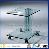 Vetro dell'armadietto, vetro dell'armadietto della mobilia, parte di vetro fornente fornente di vetro, parte di vetro per mobilia