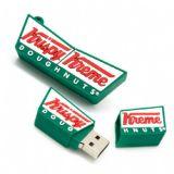 A memória do USB dos produtos da novidade a mais barata personaliza a movimentação do flash do USB do PVC