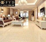 Mattonelle di pavimento Polished gialle della porcellana di 600*600 Pulati Fp6003