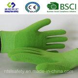 Покрытие нитрила, перчатки работы безопасности отделки Sandy (SL-NS111)