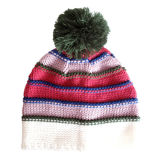 신식 줄무늬 뜨개질을 하는 모자 (JRK123)