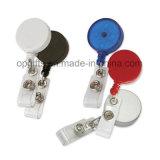 Держатель йойа оптовой продажи верхнего качества Retractable/пластичный значок наматывают зажимы