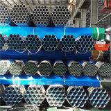 BS1387 pulgada del grado B el 1/2 a tubo galvanizado 20 pulgadas para la venta