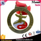 2017 el más nuevo crear la medalla del esmalte para requisitos particulares del metal con la cinta sublimada
