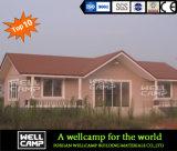 Вилла Prefab стальной структуры Wellcamp конкретная светлая