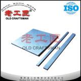 Placas duras del carburo de tungsteno de las placas de metal de la fuente del OEM para el caucho del corte