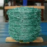 2mmワイヤー25kg/Coil PVC上塗を施してある有刺鉄線