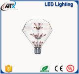 Retro Edison 별 빛, 맥주 바 LED 램프, e27 별 LED 필라멘트 전구 g125