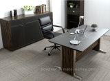 تصميم جديد المعادن طاولة مكتب مع الجلود (V6)