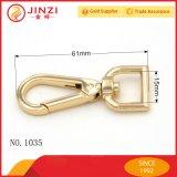 최신 판매 가벼운 금 금속 스냅 훅 공장 직접 가격 핸드백 스냅 훅