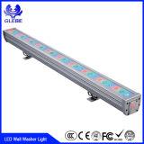 cor ao ar livre de 12W 18W 24W 36W que muda a luz da parede do diodo emissor de luz do RGB