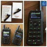 Цифров и сетноое-аналогов тактическое Handheld Transciver, GPS составляя карту Handheld радиоий в 37-50MHz /5W