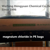 Mero del cloruro del magnesio para el derretimiento del hielo