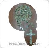 de Parels van de Rozentuin van 20mm/30mm, Grote Katholieke Rozentuin, Lichtgevende Godsdienstige Rozentuin, Grote Halsband (IO-cr_luminous)