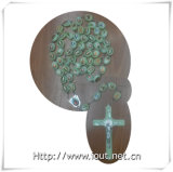 branelli del rosario di 20mm/30mm, grande rosario cattolico, rosario religioso luminoso, grande collana (IO-cr_luminous)