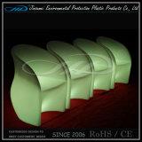 LED-Beleuchtung-Plastikstuhl im Umdrehungs-Formteil