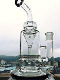 12 Inch Showerhead Perc 18mm Egg Perc Glass Smoking Pipe