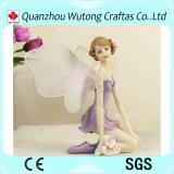 Venda por grosso Decoração Mini Fairy Polyresin Angel Figurine