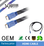 Sipu 1.4V flache HDMI Video-Hochgeschwindigkeitskabel des Kabel-3D