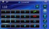 Mueca de dolor 6.0 Auto radio con RDS Bt 3G iPod para Renault Megane 2