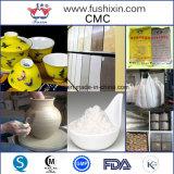Celulosa carboximetil de cerámica de sodio del polvo del CMC del grado del esmalte