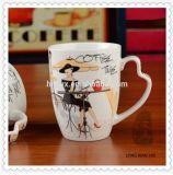 قهوة ترويجيّ أباريق خزفيّة مع مقبض طباعة