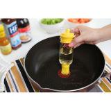 Brosse à brosse à huile et à sauce à base de silicone multifonctionnelle pour barbecue